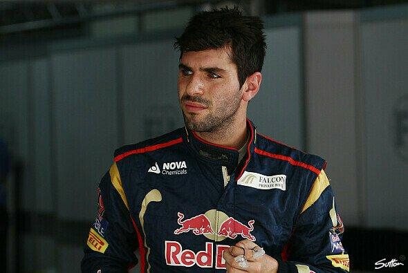 Jaime Alguersuari testete zuletzt für Pirelli