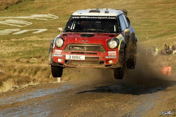 Mini hat bei jeder Rallye nur ein Auto fix im Einsatz