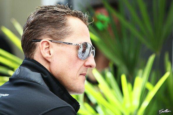 Michael Schumacher liegt seit Sonntag im künstlichen Koma