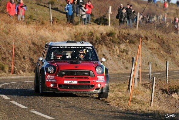 Dani Sordo beendete die Rallye Monte Carlo 2007 bereits auf dem zweiten Rang