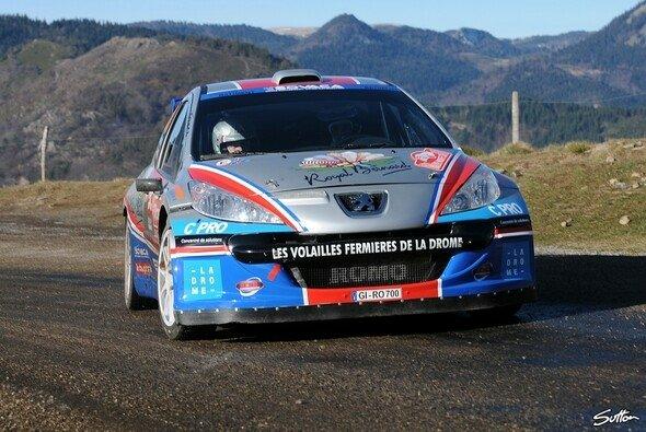 Bryan Bouffier gibt sein Debüt in der WRC-Kategorie