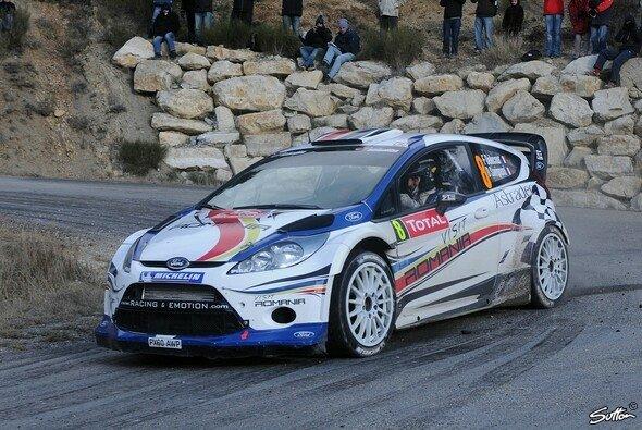 Delecour nimmt die Rallye Monte Carlo unter die Räder