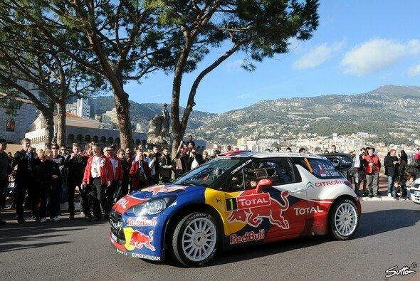 Bei der Rallye Monte-Carlo wollte Loeb unbedingt noch einmal starten