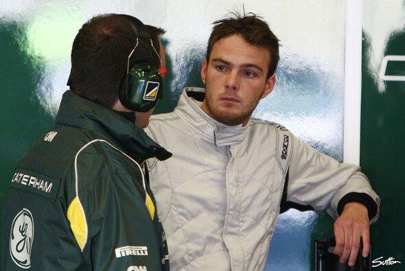 Giedo van der Garde erwartet ein anstrengendes Motorsportjahr 2012