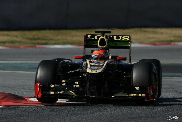 Grosjean Schnellster in Barcelona - Foto: Sutton
