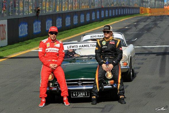 Alonso und Räikkönen - ein friedliches Dreamteam?