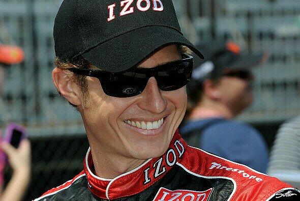 Ryan Briscoe durfte sich über seine erste Indy-Pole freuen