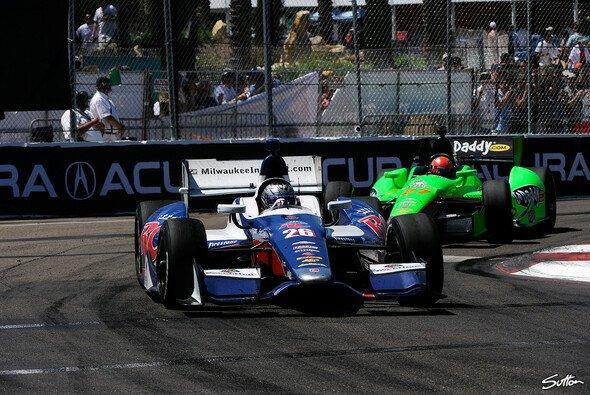 Marco Andretti sicherte sich die Bestzeit am Freitag