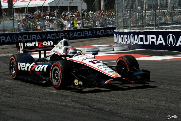Will Power konnte dank glücklicher Strategie den zweiten IndyCar-Lauf in Barber gewinnen