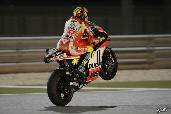 Valentino Rossi hat Hoffnung für Jerez - Foto: Sutton
