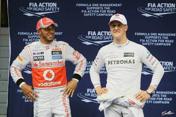 Michael Schumacher geht, Lewis Hamilton kommt