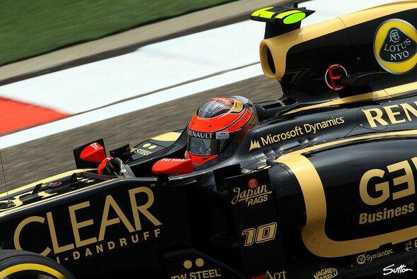 Romain Grosjean will in Bahrain wieder angreifen - Foto: Sutton