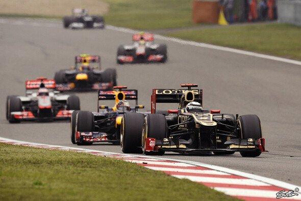 Kimi Räikkönen gefiel das enge Racing in China - Foto: Sutton