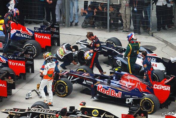 Wir müssen draußen bleiben: Red Bull & Toro Rosso waren im Gegensatz zur Konkurrenz nicht an den Gesprächen beteiligt