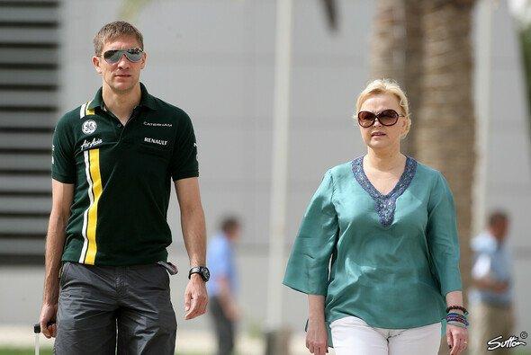 Oksana Kosachenko muss nun andere Optionen für Vitaly Petrov finden