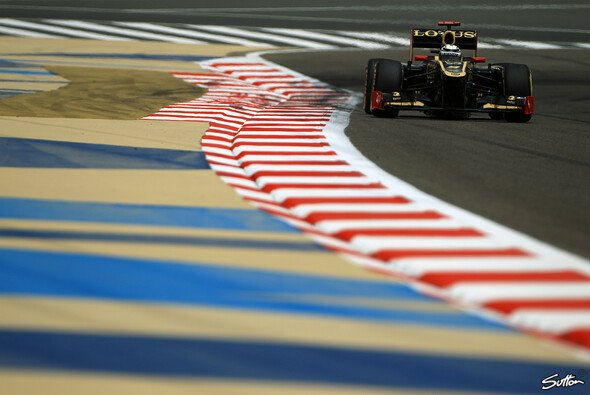 Kimi Räikkönen kam gut in der Wüste zurecht - Foto: Sutton