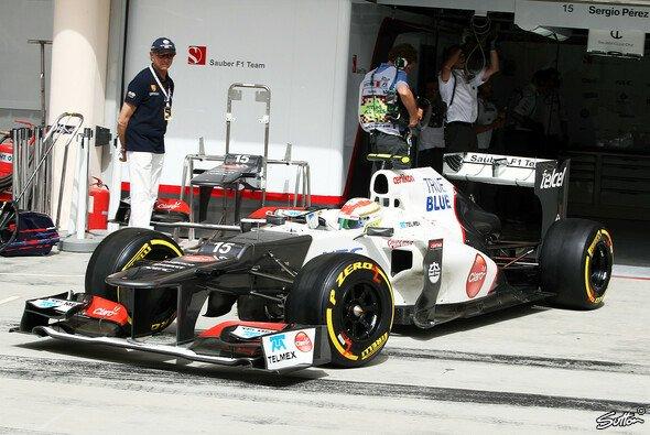 Sergio Perez versucht es mit seiner Anpassungsfähigkeit - Foto: Sutton