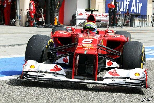 Die Bahrain-Punkte halfen nichts - Massa hat bei Ferrari einmal mehr das Nachsehen - Foto: Sutton