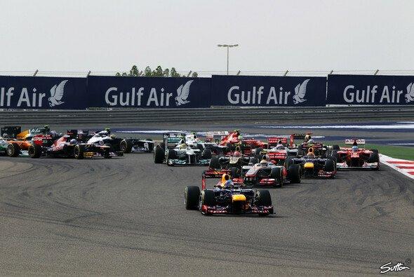 Sebastian Vettel hat in Bahrain gewonnen - Foto: Sutton