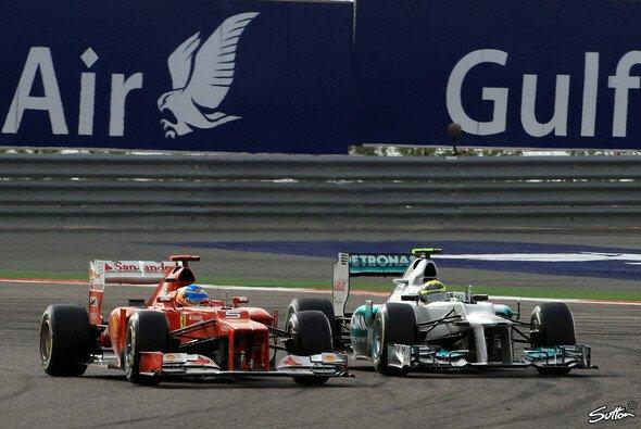 Nico Rosberg verärgerte unter anderem Fernando Alonso - Foto: Sutton