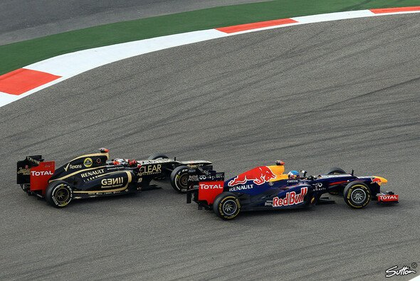 Hätte Räikkönen Vettel vielleicht überholen können? - Foto: Sutton