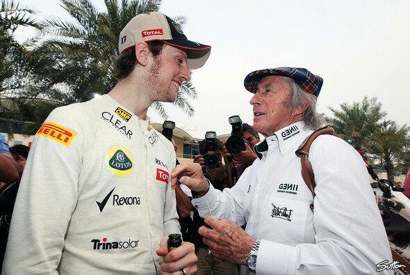 Sir Jackie Stewart hat Romain Grosjean erneut seine Hilfe angeboten - Foto: Sutton