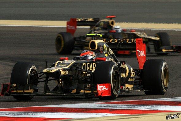 Räikkönen & Grosjean sollen Lotus zum Erfolg führen