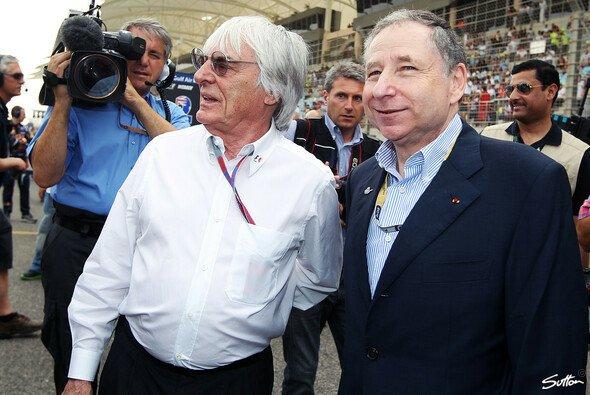 Die wahren Größen der Formel 1: Jean Todt und Bernie Ecclestone