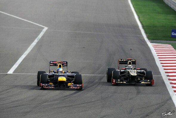 ... und attackierte sogar Sebastian Vettel - Foto: Sutton