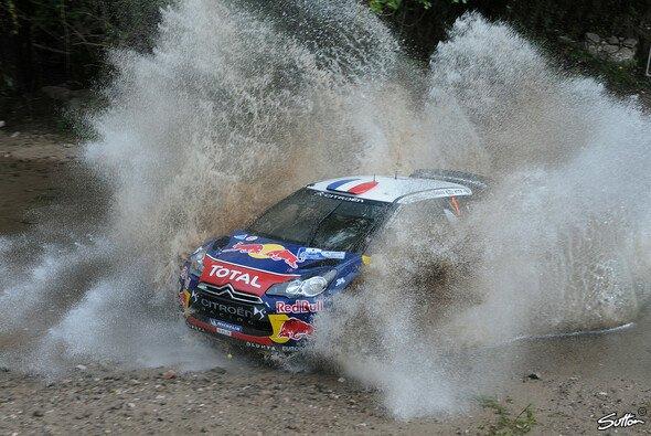 Sebastien Loeb konnte seinen Vorsprung vergrößern