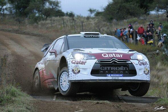 Nasser Al-Attiyah tauscht im Juni seinen Citroen DS3 WRC gegen die Flinte - Foto: Sutton
