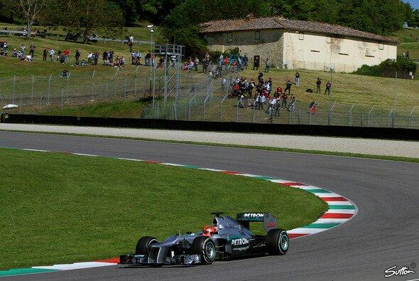 In Mugello fuhr die Formel 1 vor 2020 nur Testfahrten - Foto: Sutton