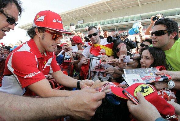 Alonso genießt in seiner Heimat hohe Popularität - Foto: Sutton