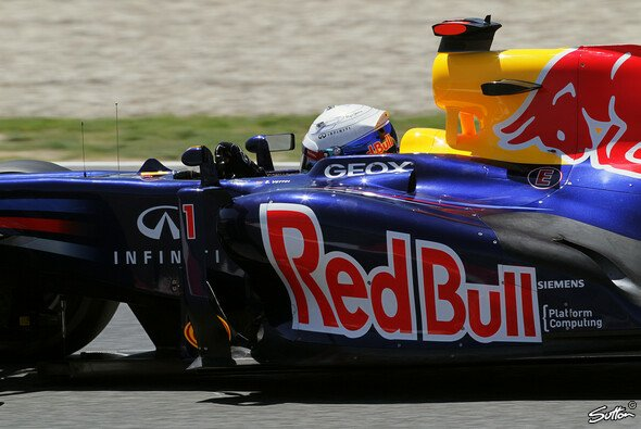 Sebastian Vettel will am Samstag etwas weniger rutschen - Foto: Sutton
