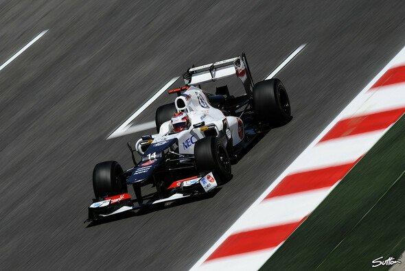 Einigkeit bei Sauber: Das Qualifying hätte noch besser sein können - Foto: Sutton