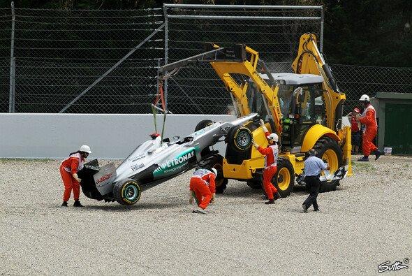 Michael Schumacher verliert in Monaco fünf Startplätze