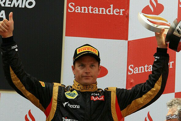 Kimi Räikkönens Freude über Platz drei hielt sich in Grenzen - Foto: Sutton