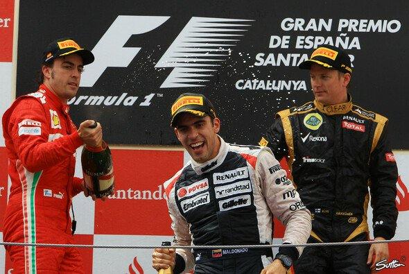 Pastor Maldonado feierte 2012 in Spanien seinen ersten und einzigen Formel-1-Sieg - Foto: Sutton
