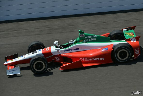 Im Vorjahr fuhr Jourdain in Indianapolis auf den 19. Platz