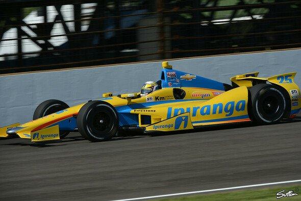 Der Auftritt mit Ana Beatriz in Indianapolis war wohl der voerst letzte für Conquest Racing