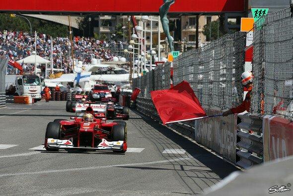 Fernando Alonso war in Monaco Schnellster - Foto: Sutton