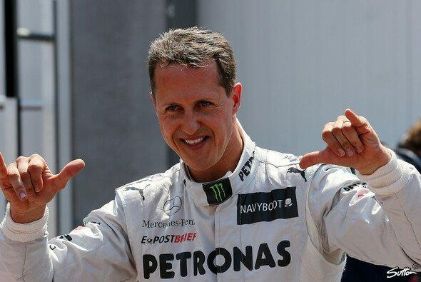 Wenn Michael Schumacher wollte, dann konnte er auch noch in seiner 'zweiten' F1-Karriere bei Mercedes - wie im Qualifying zum Monaco GP 2012 - Foto: Sutton