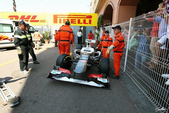 Sergio Perez startet in Monaco aus der letzten Reihe - Foto: Sutton