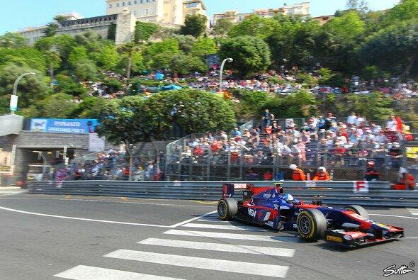 Jolyon Palmer gewann sein erstes GP2-Rennen in Monaco