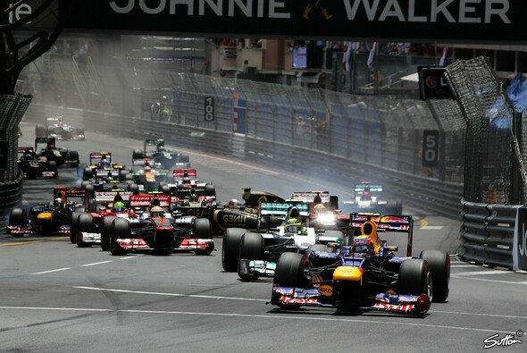 Ein Highlight der Formel-1-Saison: Das Rennen in Monaco - Foto: Sutton