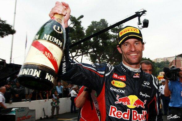 Prost und auf ein Neues in 2013: Mark Webber hat Mumm und noch viel vor