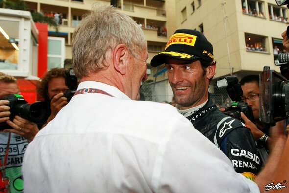 Dr. Helmut Marko erwartet Mark Webber wieder hinter Sebastian Vettel