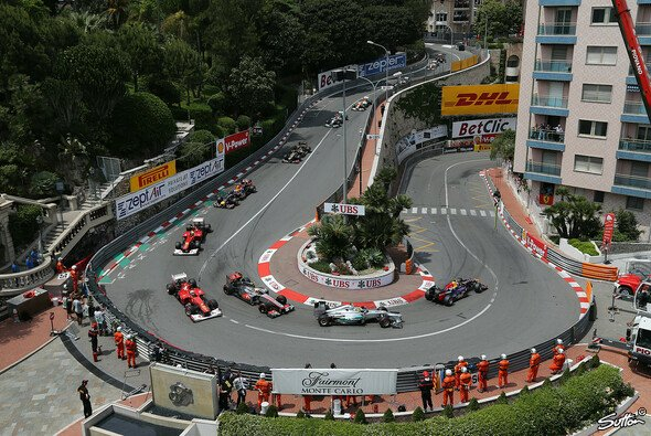 Enger hätte es in Monaco kaum sein können