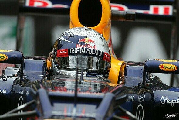 Sebastian Vettels Taktik ging nicht ganz auf - Foto: Sutton