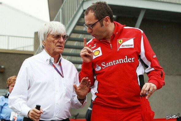 Bernie Ecclestone war vom Verhalten Ferraris nicht begeistert